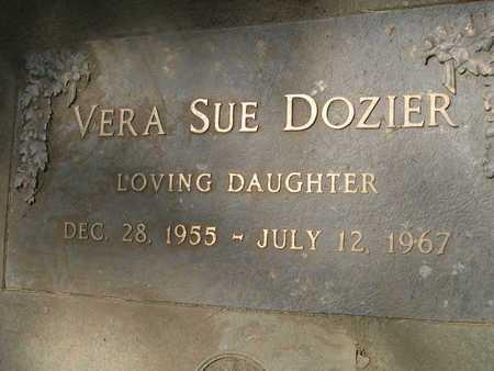 DOZIER, VERA SUE - Butte County, California | VERA SUE DOZIER - California Gravestone Photos