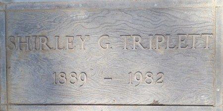 "TRIPLETT, SHIRLEY ""TRIP"" - Fresno County, California   SHIRLEY ""TRIP"" TRIPLETT - California Gravestone Photos"
