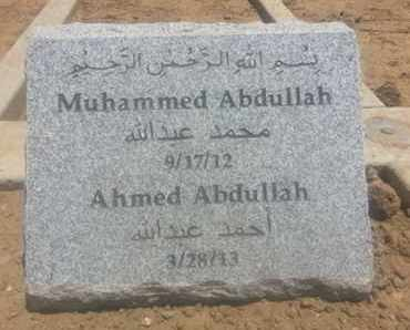 ABDULLAH, MUHAMMED - Los Angeles County, California | MUHAMMED ABDULLAH - California Gravestone Photos