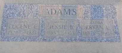 ADAMS, JESSIE - Los Angeles County, California | JESSIE ADAMS - California Gravestone Photos