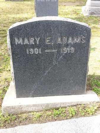 ADAMS, MARY E. - Los Angeles County, California | MARY E. ADAMS - California Gravestone Photos