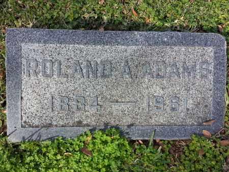 ADAMS, ROLAND A. - Los Angeles County, California | ROLAND A. ADAMS - California Gravestone Photos