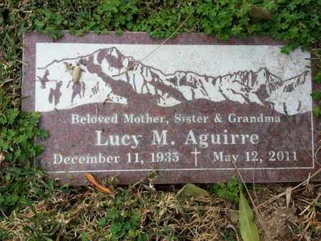 AGUIRRE, LUCY M. - Los Angeles County, California | LUCY M. AGUIRRE - California Gravestone Photos