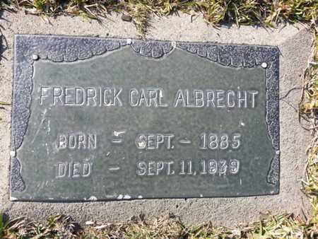 ALBRECHT, FREDRICK CARL - Los Angeles County, California | FREDRICK CARL ALBRECHT - California Gravestone Photos