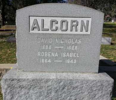 ALCORN, DAVID NICHOLAS - Los Angeles County, California   DAVID NICHOLAS ALCORN - California Gravestone Photos