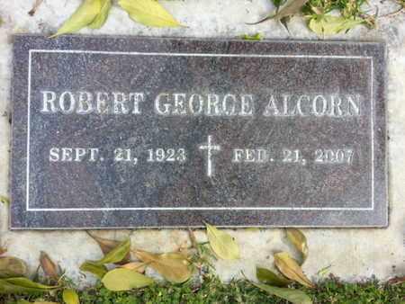 ALCORN, ROBERT GEORGE - Los Angeles County, California | ROBERT GEORGE ALCORN - California Gravestone Photos