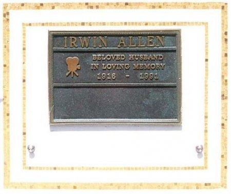 ALLEN, IRWIN  [DIRECTOR/PRODUCER] - Los Angeles County, California | IRWIN  [DIRECTOR/PRODUCER] ALLEN - California Gravestone Photos