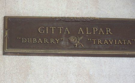 ALPAR, GITTA - Los Angeles County, California | GITTA ALPAR - California Gravestone Photos