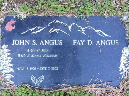ANGUS, FAY D. - Los Angeles County, California | FAY D. ANGUS - California Gravestone Photos