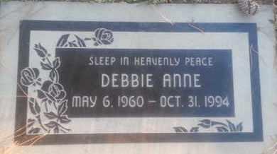 ANNE, DEBBIE - Los Angeles County, California | DEBBIE ANNE - California Gravestone Photos