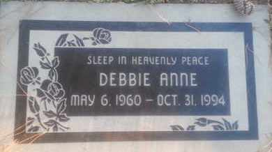 ANNE, DEBBIE - Los Angeles County, California   DEBBIE ANNE - California Gravestone Photos