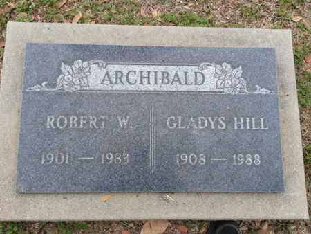 ARCHIBALD, ROBERT W. - Los Angeles County, California   ROBERT W. ARCHIBALD - California Gravestone Photos