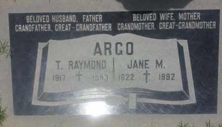 ARGO, T. - Los Angeles County, California | T. ARGO - California Gravestone Photos