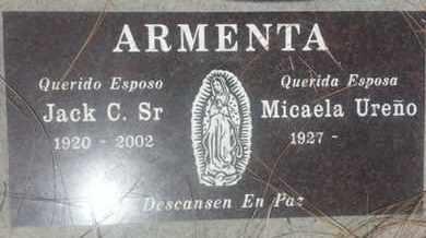 ARMENTA, MICAELA - Los Angeles County, California | MICAELA ARMENTA - California Gravestone Photos