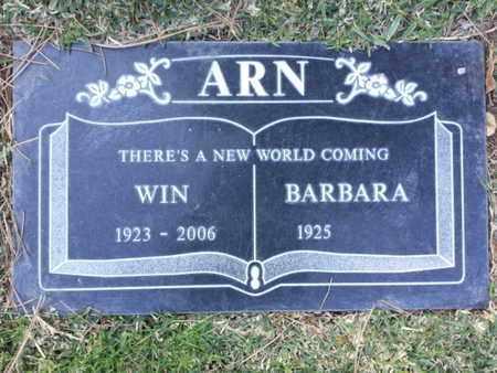 ARN, BARBARA - Los Angeles County, California | BARBARA ARN - California Gravestone Photos