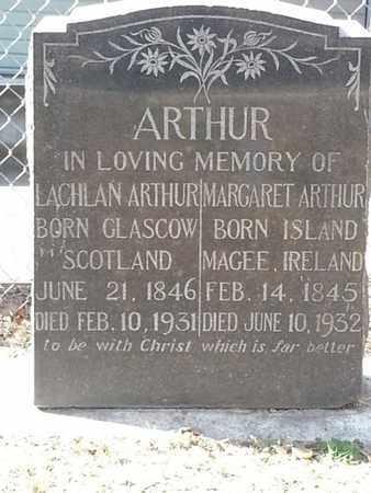 ARTHUR, LACHLAN - Los Angeles County, California | LACHLAN ARTHUR - California Gravestone Photos
