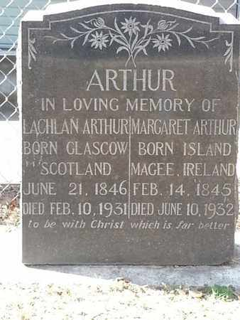 ARTHUR, LACHLAN - Los Angeles County, California | LACHLAN ARTHUR - California Gravestone Photos