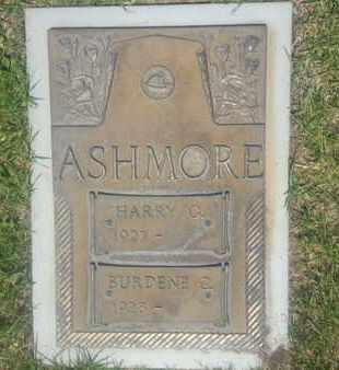 ASHMORE, BURDENE - Los Angeles County, California | BURDENE ASHMORE - California Gravestone Photos