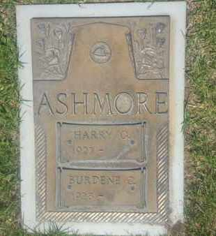 ASHMORE, BURDENE - Los Angeles County, California   BURDENE ASHMORE - California Gravestone Photos