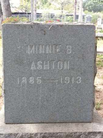 ASHTON, MINNIE B. - Los Angeles County, California | MINNIE B. ASHTON - California Gravestone Photos