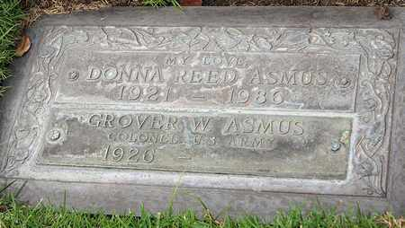 REED ASMUS, DONNA - Los Angeles County, California | DONNA REED ASMUS - California Gravestone Photos