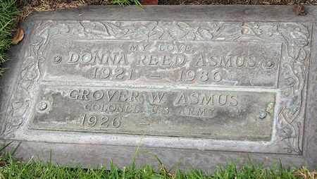 ASMUS, GROVER W - Los Angeles County, California   GROVER W ASMUS - California Gravestone Photos