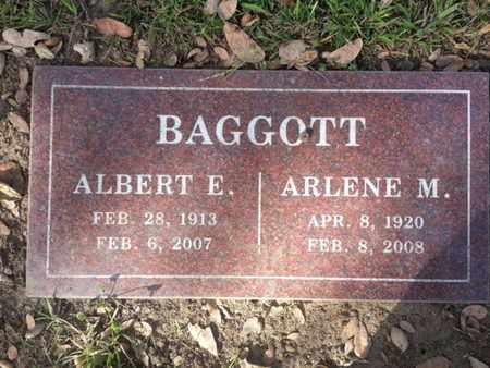 BAGGOTT, ARLENE M. - Los Angeles County, California | ARLENE M. BAGGOTT - California Gravestone Photos