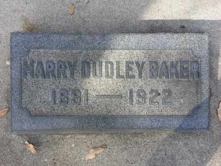 BAKER, HARRY DUDLEY - Los Angeles County, California | HARRY DUDLEY BAKER - California Gravestone Photos