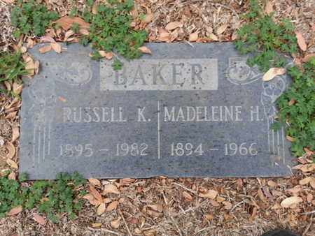 BAKER, RUSSELL K. - Los Angeles County, California | RUSSELL K. BAKER - California Gravestone Photos