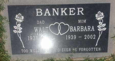 BANKER, WALT - Los Angeles County, California | WALT BANKER - California Gravestone Photos