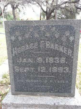 BARKER, HORACE E - Los Angeles County, California | HORACE E BARKER - California Gravestone Photos