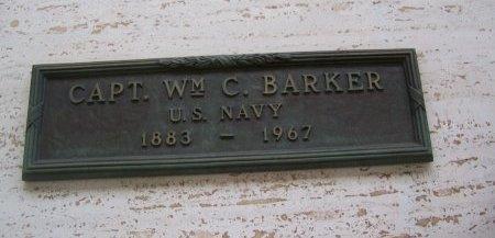 BARKER, WILLIAM C  (VET) - Los Angeles County, California | WILLIAM C  (VET) BARKER - California Gravestone Photos