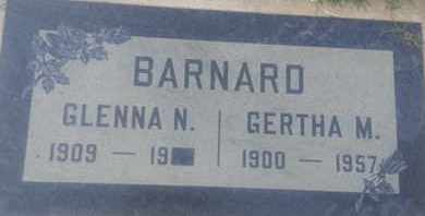 BARNARD, GERTHA - Los Angeles County, California | GERTHA BARNARD - California Gravestone Photos