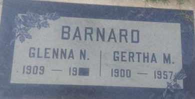 BARNARD, GERTHA - Los Angeles County, California | GERTHA BARNARD - California Gravestone Photos