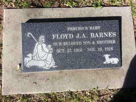 BARNES, FLOYD J. A. - Los Angeles County, California   FLOYD J. A. BARNES - California Gravestone Photos