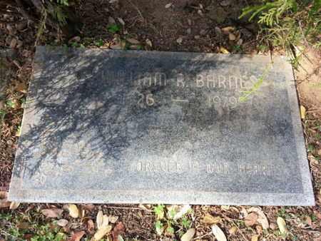 BARNES, WILLIAM R. - Los Angeles County, California | WILLIAM R. BARNES - California Gravestone Photos
