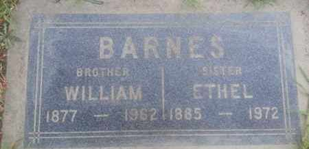 BARNES, WILLIAM - Los Angeles County, California | WILLIAM BARNES - California Gravestone Photos