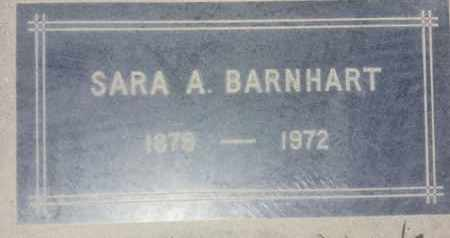 BARNHART, SARA - Los Angeles County, California | SARA BARNHART - California Gravestone Photos