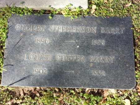 BARRY, GILBERT STEPHENSON - Los Angeles County, California | GILBERT STEPHENSON BARRY - California Gravestone Photos