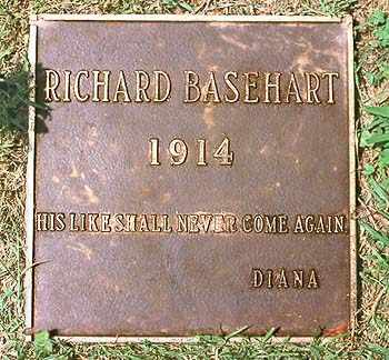 BASEHART, JOHN RICHARD  (ACTOR) - Los Angeles County, California   JOHN RICHARD  (ACTOR) BASEHART - California Gravestone Photos