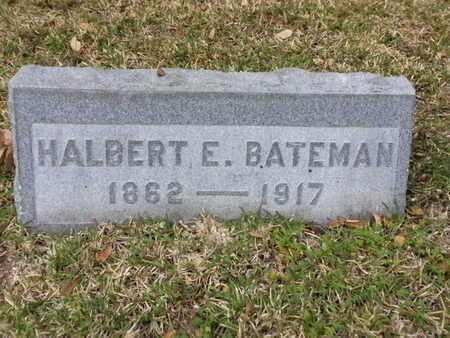 BATEMAN, HALBERT E. - Los Angeles County, California   HALBERT E. BATEMAN - California Gravestone Photos