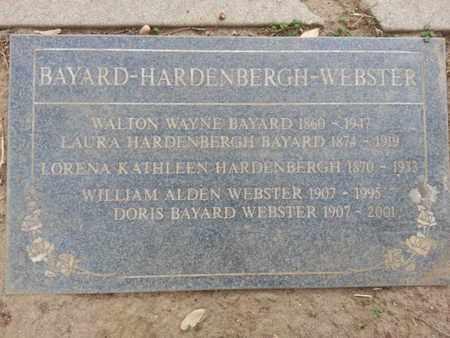 BAYARD WEBSTER, DORIS - Los Angeles County, California | DORIS BAYARD WEBSTER - California Gravestone Photos