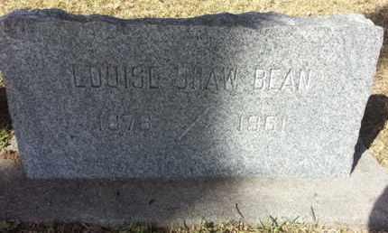 BEAN, LOUISE - Los Angeles County, California   LOUISE BEAN - California Gravestone Photos