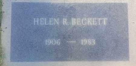 BECKETT, HELEN - Los Angeles County, California | HELEN BECKETT - California Gravestone Photos