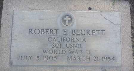 BECKETT, ROBERT - Los Angeles County, California   ROBERT BECKETT - California Gravestone Photos
