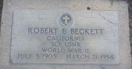 BECKETT, ROBERT - Los Angeles County, California | ROBERT BECKETT - California Gravestone Photos