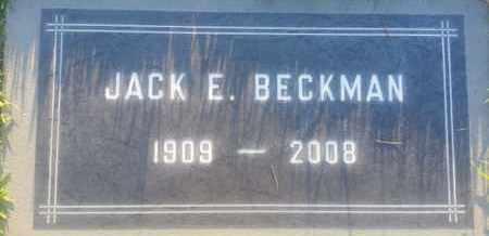BECKMAN, JACK - Los Angeles County, California | JACK BECKMAN - California Gravestone Photos