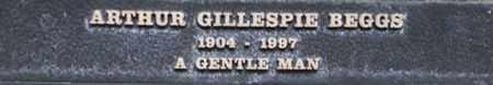 BEGGS, ARTHUR GILLESPIE - Los Angeles County, California | ARTHUR GILLESPIE BEGGS - California Gravestone Photos