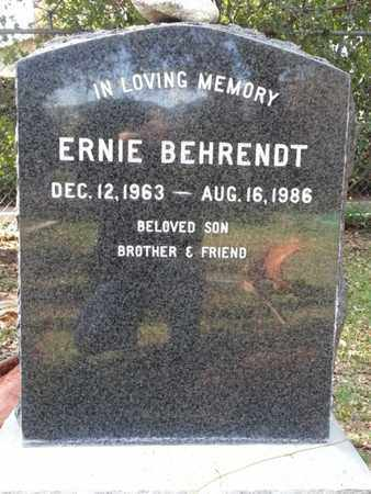 BEHRENDT, ERNIE - Los Angeles County, California | ERNIE BEHRENDT - California Gravestone Photos