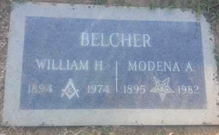BELCHER, MODENA - Los Angeles County, California | MODENA BELCHER - California Gravestone Photos